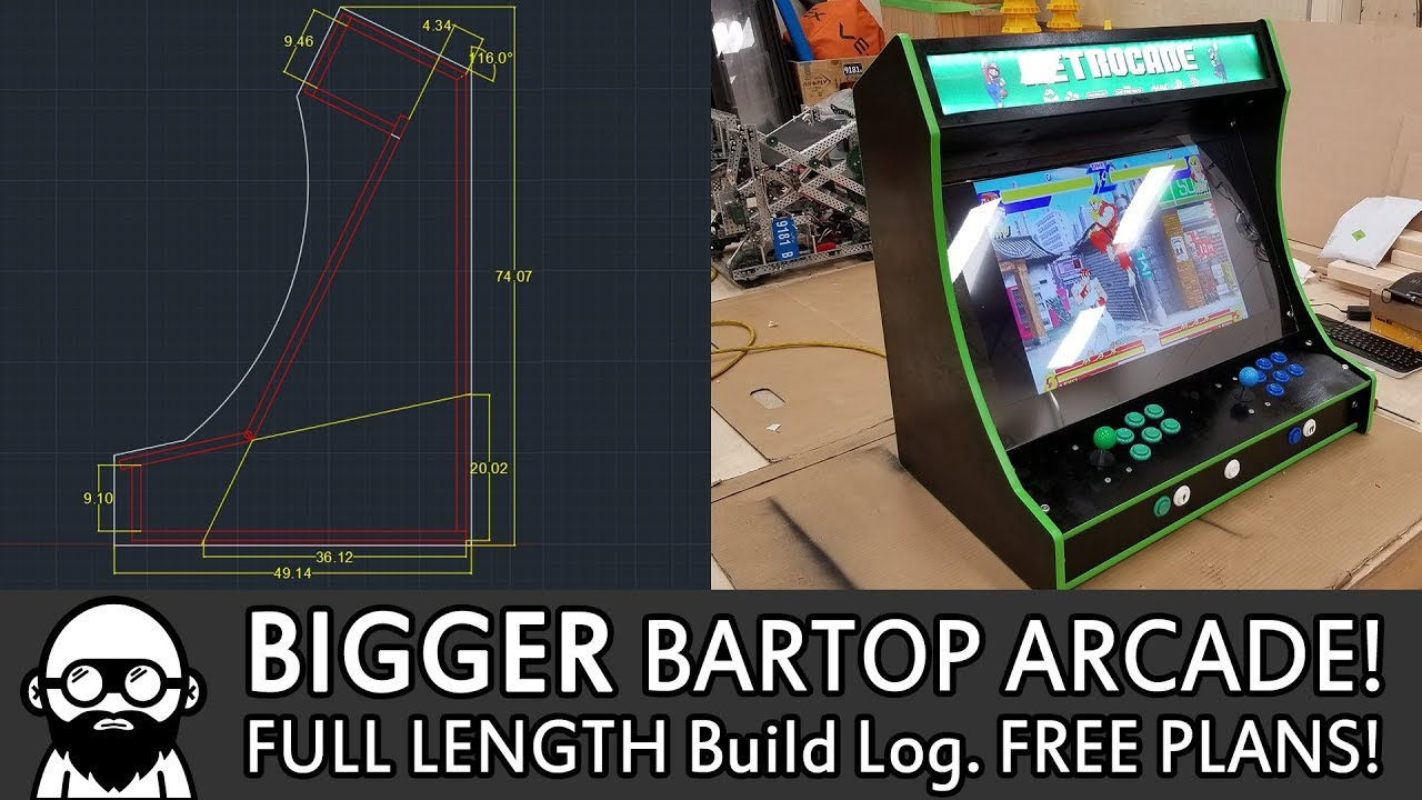 2-Player Bartop Arcade Machine (Powered by Pi): 19 Steps (with Pictures)