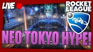 Rocket League NEO TOKYO HYPE! (Geen viewergames vandaag)