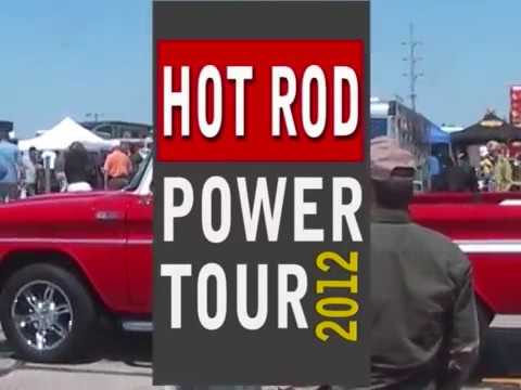 HOT RODS IN MUSKEGON   HOT ROD POWER TOUR JUNE 2012