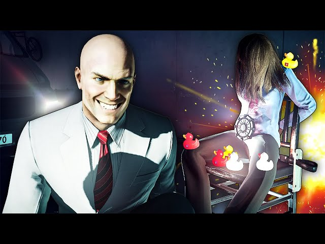 Trolling Hostages With the Hitman 2 Randomizer Mod Is Hilarious for All the Wrong Reasons