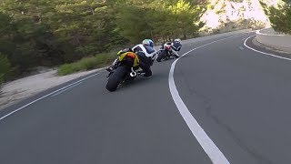 Following two of the Best GsxR 600 Riders in Cyprus