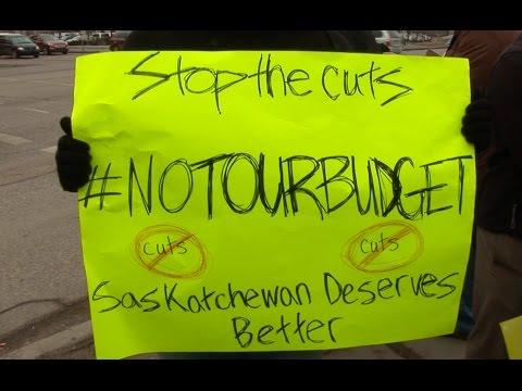 People Say Nuts to Cuts in Saskatchewan
