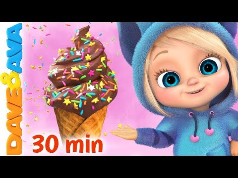 🍨The Ice Cream Song   Baby Songs and Nursery Rhymes   Dave and Ava🍨