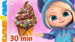 Download 🍨The Ice Cream Song | Baby Songs and Nursery Rhymes | Dave and Ava🍨 Mp3 and Videos