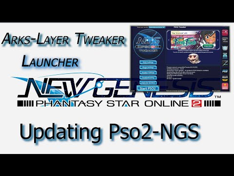 Pso2NGS Update with the ArksLayer Tweaker