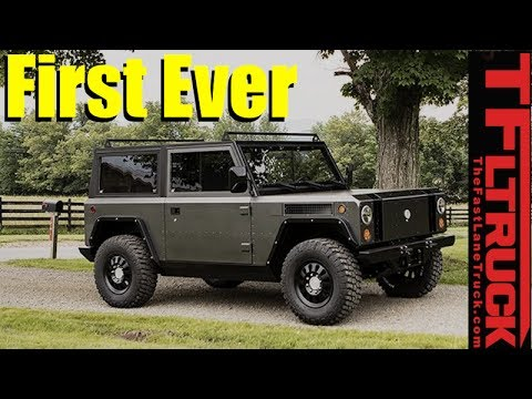 Wow! All Electric AWD Wrangler, Defender and New Bronco Fighter is Born