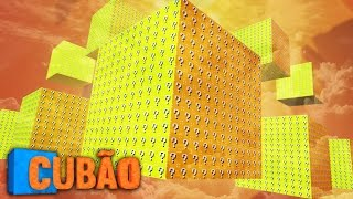 Minecraft: CUBAO 9 CUBOES! - Lucky Block PVP