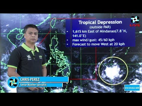 Public Weather Forecast Issued at 4:00 AM November 17, 2018