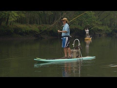 Wild SideTV-Paddleboard Fly Fishing