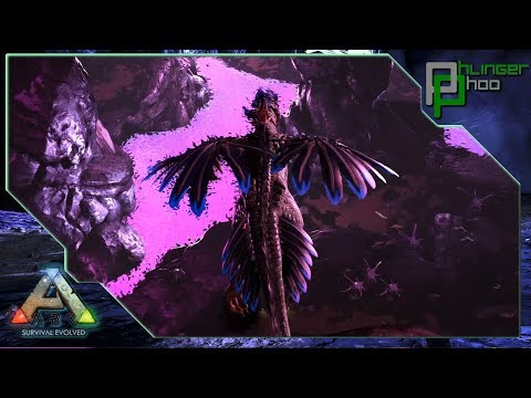 Ark: Aberration - EXPLORING ABERRATION! ROCK DRAKE!