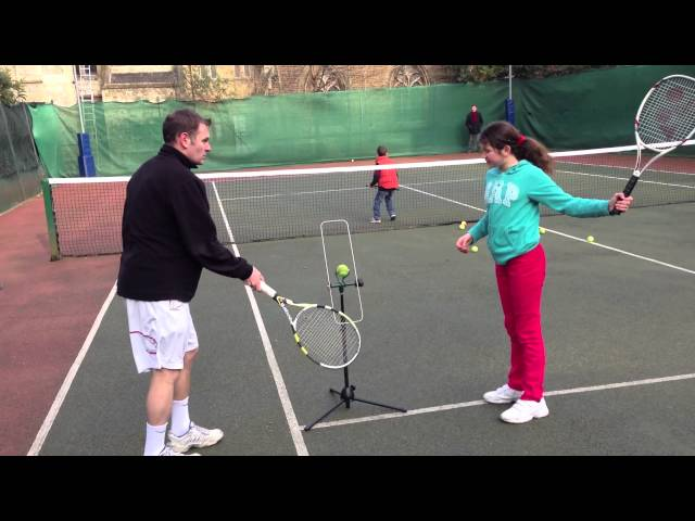Katya learns topspin in 2 minutes