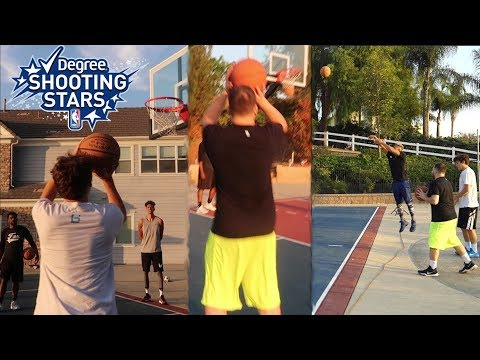 NBA SHOOTING STARS CHALLENGE!!! (RECORD)