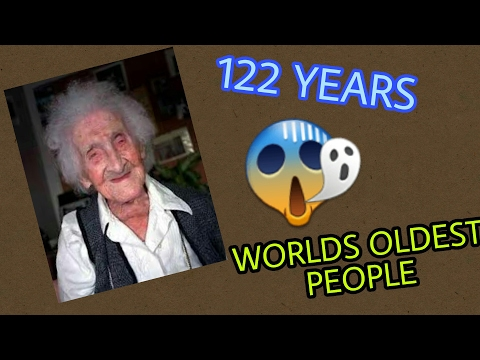 Worlds oldest people when you will get to know you will be shocked😲😲😲😲