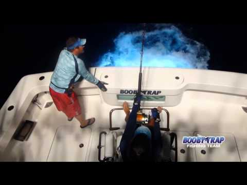 CATCHING GIANT SWORDFISH WITH BOOBY TRAP FISHING TEAM