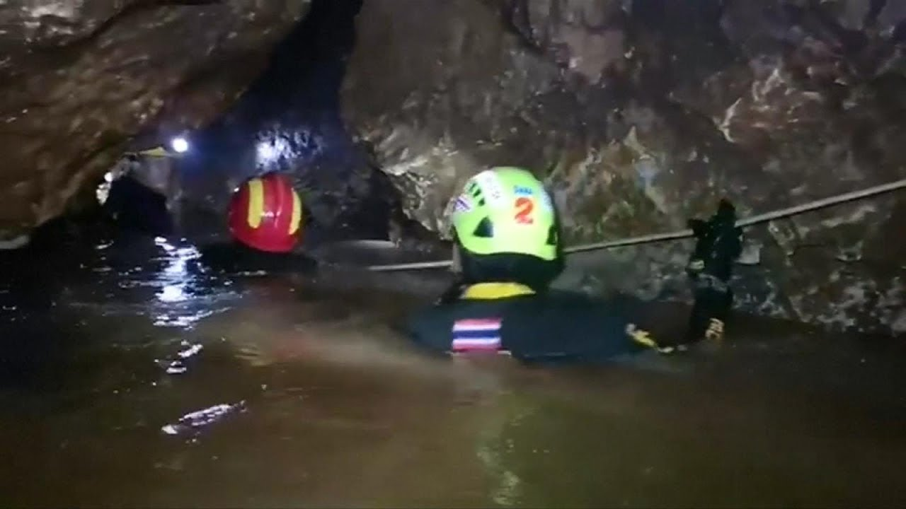 Thai cave rescue live: Watch remaining boys, soccer coach rescued