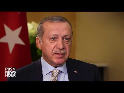 Erdogan: Wrong for U.S. to deny Turkey sale of guns