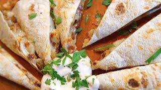 Best Hash Brown Quesadilla episode | SAM THE COOKIN GUY recipe