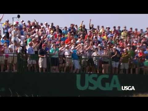 Sights and Sounds from a U.S. Open Saturday