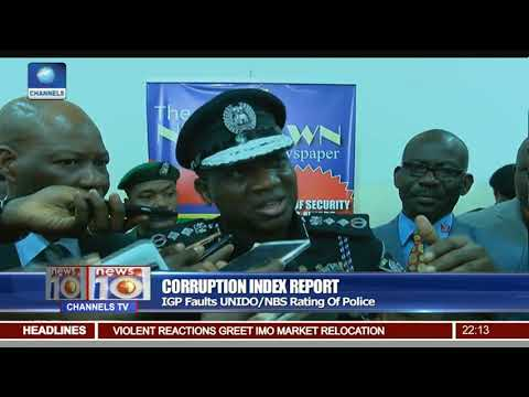 IGP Faults UNIDO/NBS Corruption Rating Of Police