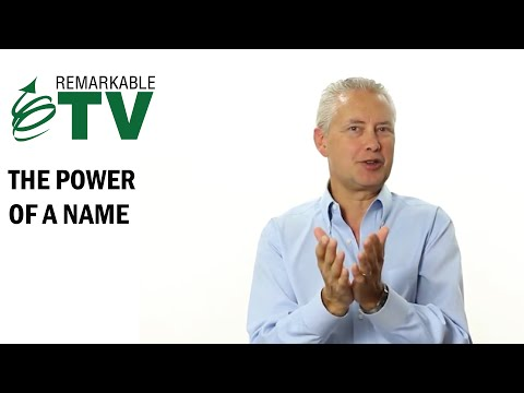 The Power of a Name  Remarkable TV