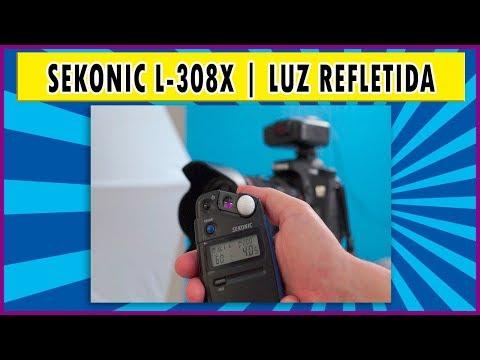 Sekonic L-308X | Modo de medição por luz refletida