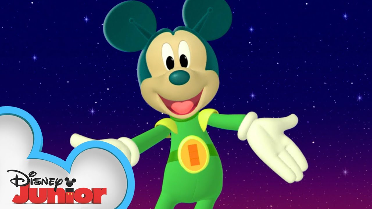 Martian Mickey Needs Help Mickey Mornings Mickey Mouse Clubhouse Disney Junior Youtube