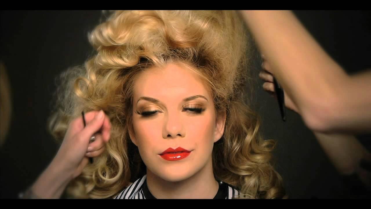 Pin Up Girl Hair And Makeup Transformation Youtube