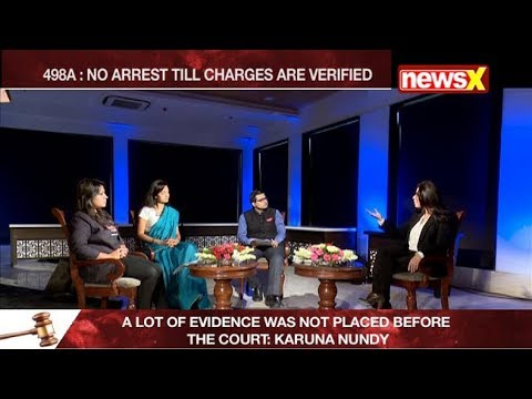 Legally Speaking: 498A - Supreme Court shows the way