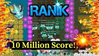 Starve.io 10M Score RIPDSY NC vs 15x clan (ihax/ru/hero/trashs etc...) -Ranik-