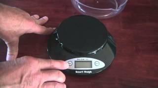 Review Smart Weigh 2kg digital scale accurate to .1 gram