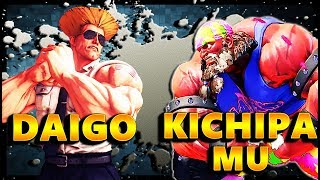 Daigo Umehara ( Guile ) clashes against Kichipa Mu One of the very ...