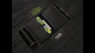 Мини-портмоне ручной работы VOILE vl-cvw1-blk. Купить недорого - видео обзор