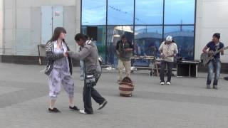 Otavalos Indians / Cumbiapu/ Купчино/ Спб/ 02.07.2014 г.