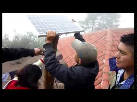 Light Up The World - Solar Energy Project in Guatemala