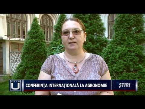 Conferință Internațională la Agronomie