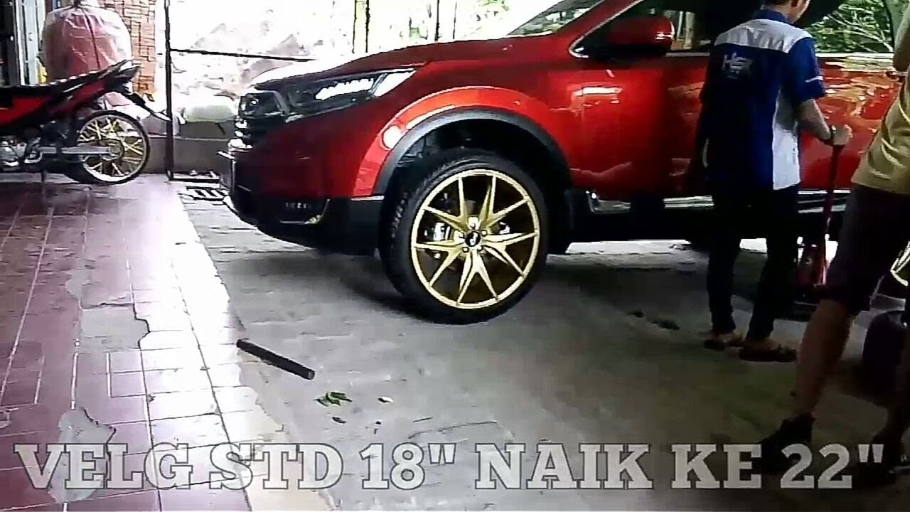 Modifikasi Velg Racing Avanza Veloz, Modifikasi New Honda Crv Turbo Using Velg Nhice Ring 22 Hsr Wheels, Modifikasi Velg Racing Avanza Veloz