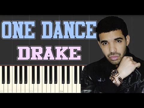 Drake - One Dance (feat Wizkid & Kyla) - Slow Piano Tutorial