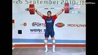 Dmitry Klokov at 2010 World Weightlifting Championship