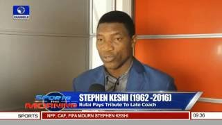 Stephen Keshi: Rufai Pays Tribute To Late Coach