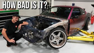 """homepage tile video photo for Tearing into the """"Badly Crashed"""" S15 I bought..."""