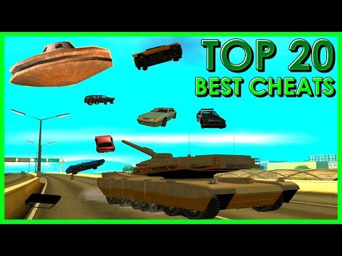 GTA San Andreas - Top 20 Cheats
