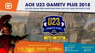 AOE | 4vs4 Random | GameTV vs BiBi Club | Ngày 24-9-2018
