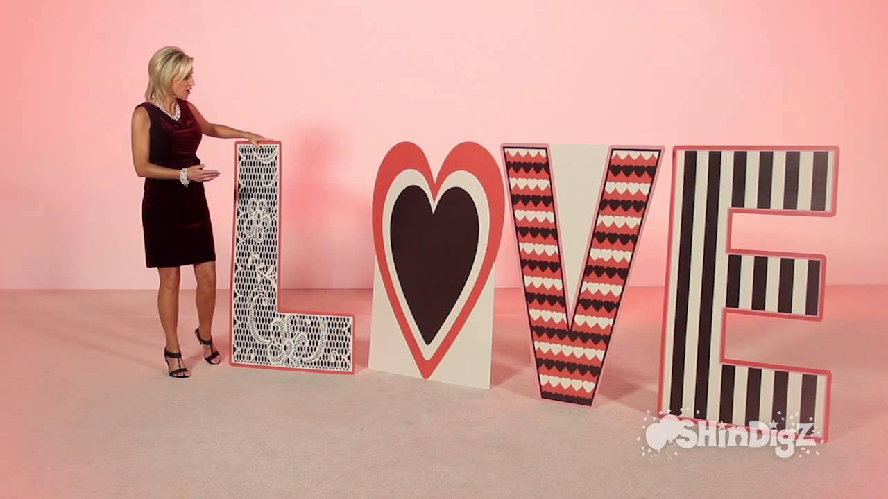 Love Letter Set Cardboard Cutout Standee - Shindigz ...