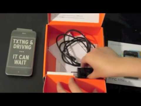 HTC Titan 2 unboxing