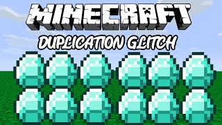 Minecraft bedrock duplication glitch 2019