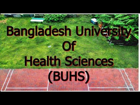 Bangladesh University Of Health Sciences (BUHS)