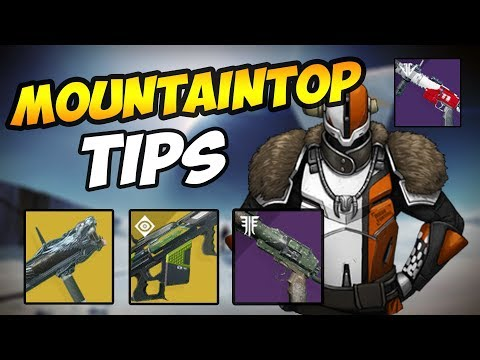 Destiny 2 Mountain Top Guide | Mountain top MADE EASY!!!!!