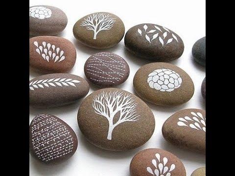 Pintando una piedra youtube for Pintura para pintar piedras