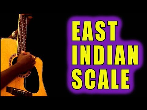 Incredible East Indian Scale - GUITAR - RAGA [Charukeshi]