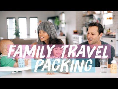 Family Travel Packing | What's In Our Bags?
